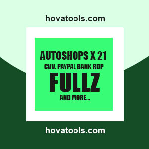 AUTOSHOPS X 21. CVV. PayPal. Banks.RDP. Fullz and more.