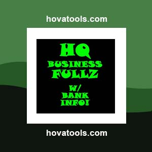 High Quality Business Fullz fulls w/ bank account #s and DL #s