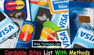 Worldwide Cardable sites + Methods – tut for 2021 users