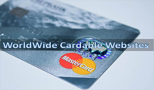 Worldwide cardable sites list free from hovatools.com