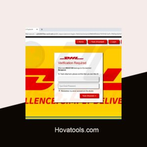 DHL 2 V2 Phishing page | Scam Page